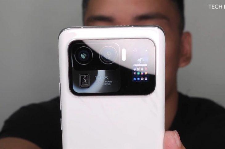 Mi 11 Ultra Leak viser bagmonteret Selfie-skærm, 120x zoom & # 038; Mere