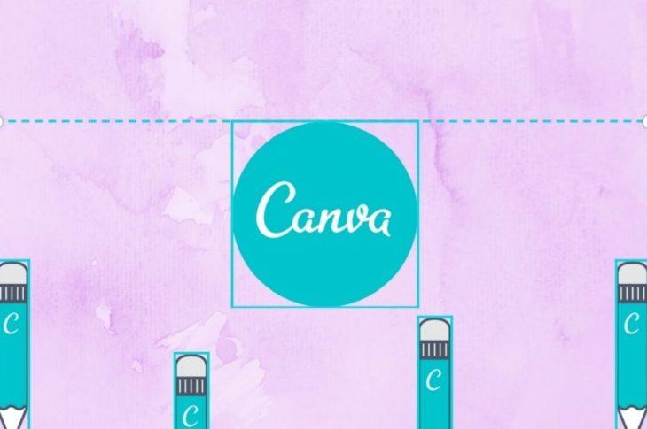 Sådan grupperes og opdeles elementer i Canva på mobil og & nbsp; PC