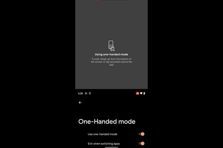 Google tilføjer enhånds-tilstand i Android 12; Fungerer ligesom Apples nåbarhed