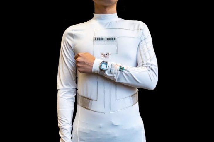 Forskere udvikler et & # 8216; Wearable Microgrid & # 8217; Til at drive små enheder ved hjælp af en menneskelig krop
